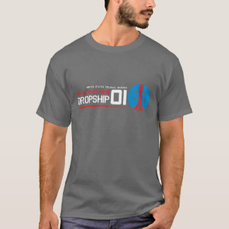 Dropship Sci Fi Movie T Shirt