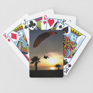 Dropzone At Dusk Bicycle Playing Cards