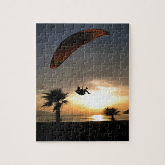 Dropzone At Dusk Jigsaw Puzzle