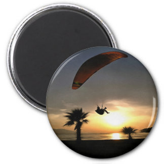 Dropzone At Dusk Magnet