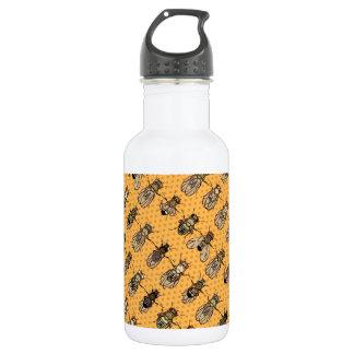 Drosophila Fruit Fly Genetics - mutants - Tangerin 532 Ml Water Bottle