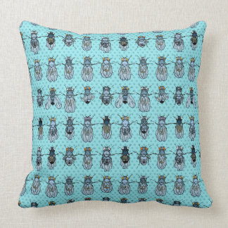 Drosophila Fruit Fly Genetics - mutants -Turquoise Cushion
