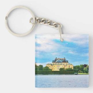 Drottningholm Palace in Sweden Key Ring