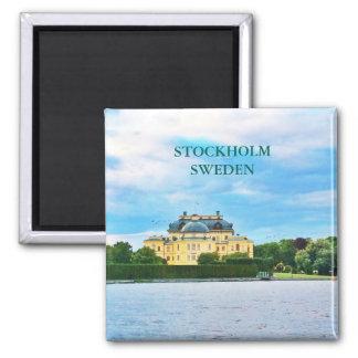 Drottningholm Palace in Sweden Magnet