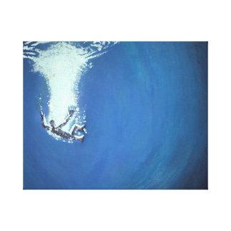 Drowning Man By John Fermin Canvas Print