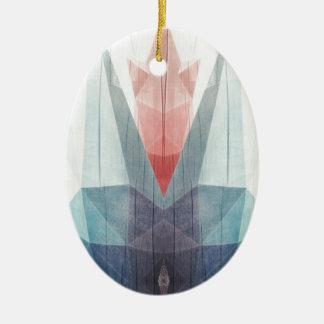 Drowning Tulip Ceramic Oval Decoration