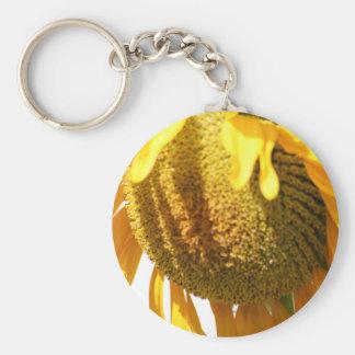 Drowsy Sunflower keychain