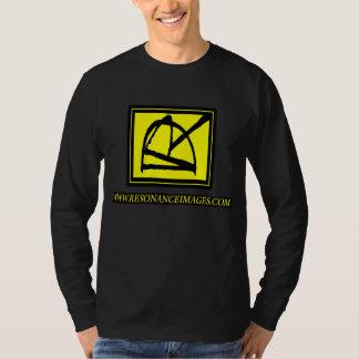 DRRI Logo Yellow Resonance Images Long Sleeve Tee Shirts