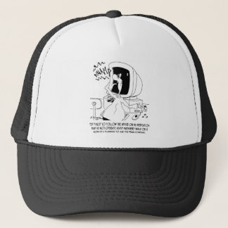 Drug Cartoon 6512 Trucker Hat