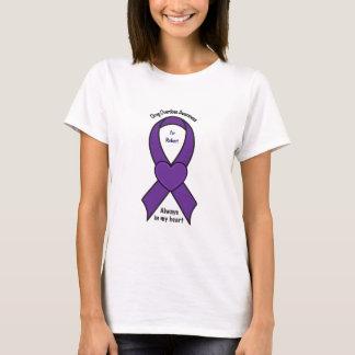 Drug Overdose Awareness Heart Name Customisable T-Shirt
