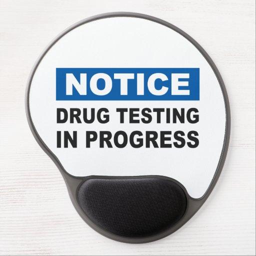Drug Testing in Progress Gel Mouse Mat