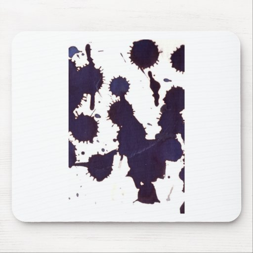 drugging drips, from a height mousemats