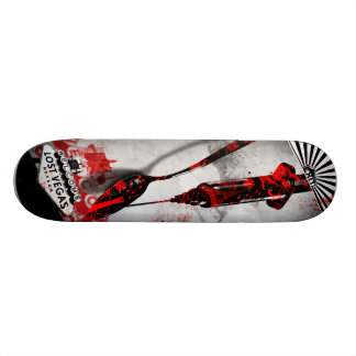 Drugs - Gun - EXIT Lost Vegas August 29, 2009 21.6 Cm Old School Skateboard Deck