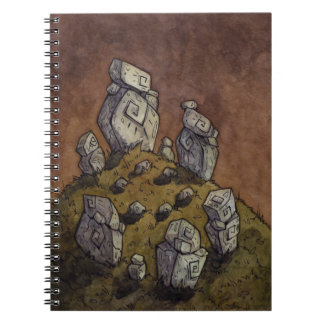 Druid's Circle Notebook from Unreal Estate