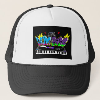 Drum and Bass Graffiti Trucker Hat