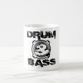 Drum and Bass Subwoofer Coffee Mug