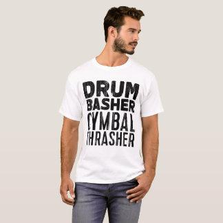 drum basher cymbal thrasher T-Shirt