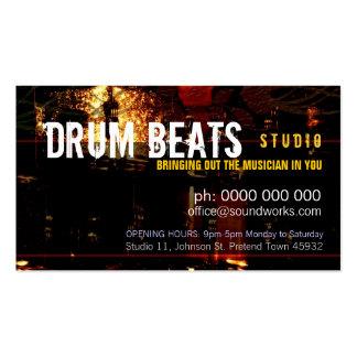 Drum Beats Music Business card