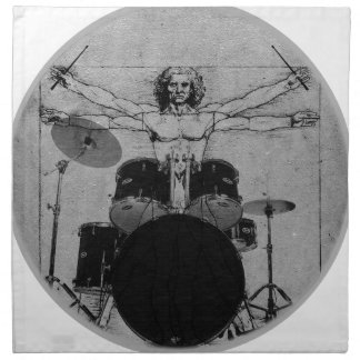 drum copy napkin