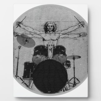drum copy plaque