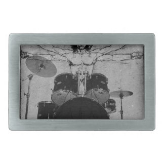 drum copy rectangular belt buckles