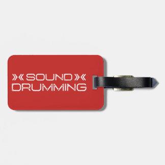 Drum, Drum Bag, & Luggage Tag