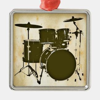 drum / drums metal ornament
