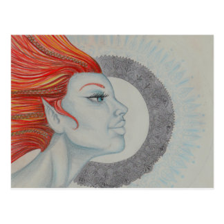 Drum Goddess Postcard