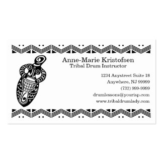 Drum Goddess v.2 Pack Of Standard Business Cards