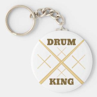 Drum King Key Ring