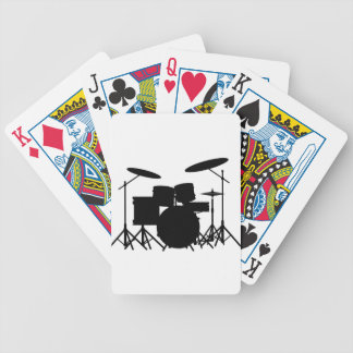 Drum Kit Bicycle Playing Cards