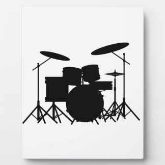 Drum Kit Display Plaques