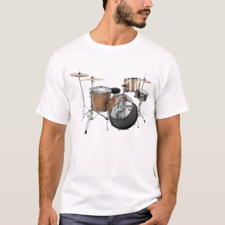 Drum Kit Drummer Rock Band Musician Gig Play Music T-Shirt