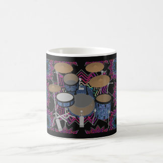 Drum Kit & Fractal Graphics: Coffee Mug