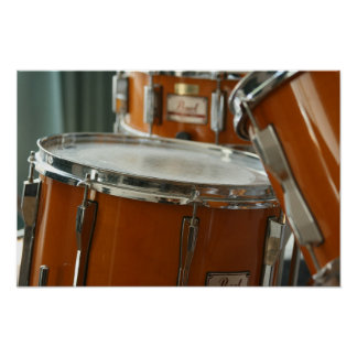 Drum Kit Music Percussion Poster