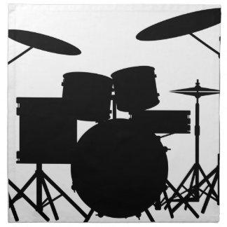 Drum Kit Napkin