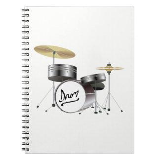 Drum Kit Notebook