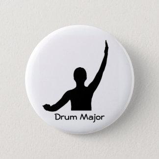 Drum Major 6 Cm Round Badge