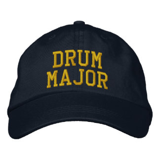 DRUM MAJOR EMBROIDERED HATS