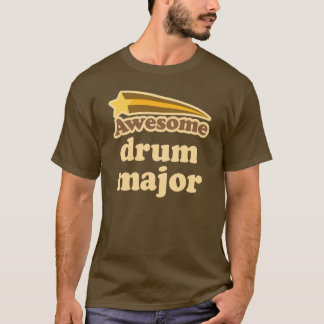 Drum Major Marching Band star T-Shirt