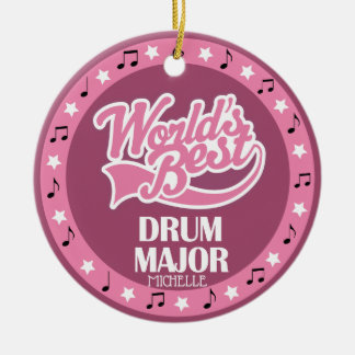 Drum Major Ornament Band Gift For Her