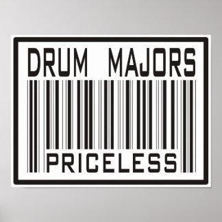 Drum Majors Priceless Poster