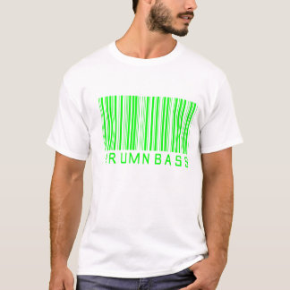 drum n bass barcode T-Shirt
