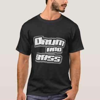 DRUM n BASS DnB Jungle Breakbeat DJ shirt