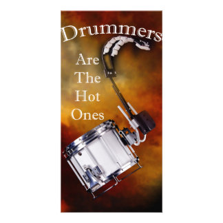 Drum Percussion Card or Invitation You add Text Photo Card Template