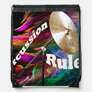 Drum Percussion Tote Bag ADD YOUR TEXT