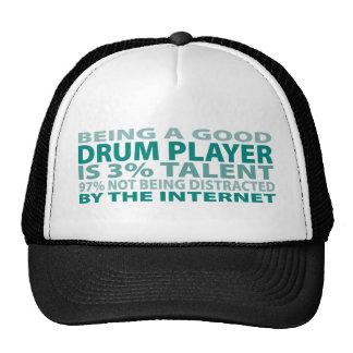 Drum Player 3% Talent Cap