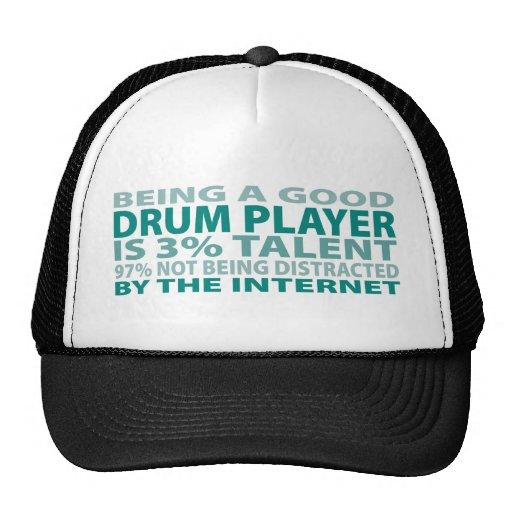 Drum Player 3% Talent Hats