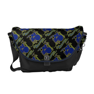 drum rocker pattern courier bags