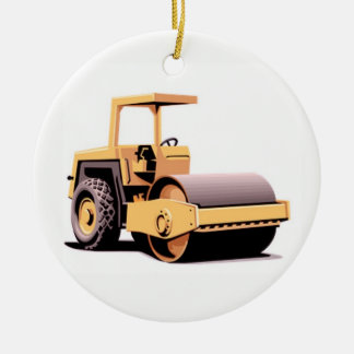 Drum Roller Ceramic Ornament